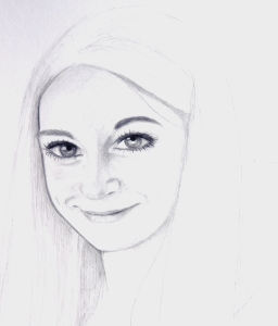 Portrait, crayon, commande de dec 2015