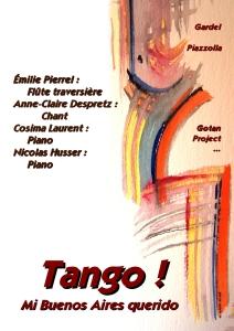 Affiche Tango !