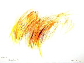 """""""Impulsion 2"""", aquarelle, (20x30) cm"""