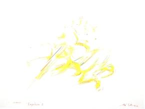 """""""Impulsion 3"""", aquarelle, (20x30) cm"""