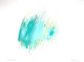 """""""Impulsion 5"""", aquarelle, (20x30) cm"""