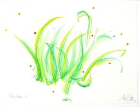 """""""Impulsion 10"""", aquarelle, (20x30) cm"""