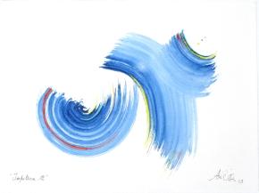 """""""Impulsion 12"""", aquarelle, (20x30) cm"""